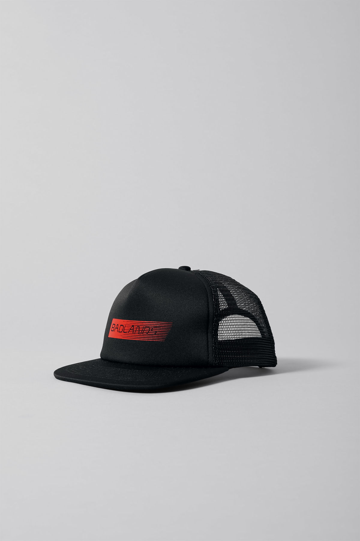Front image of Weekday can cap in black