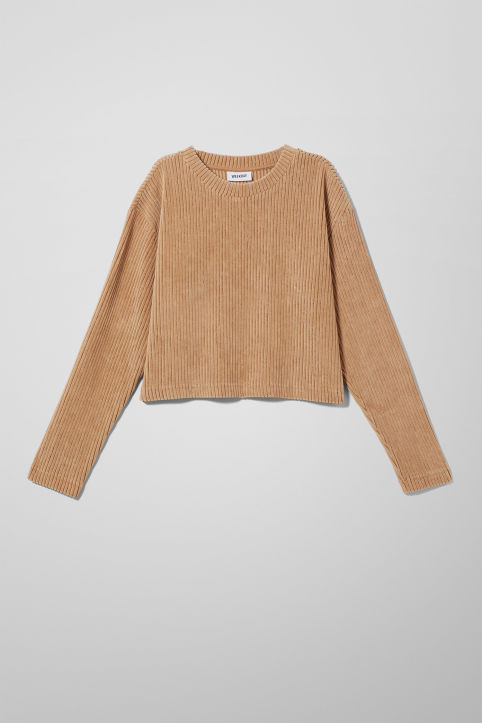 Weekday Shea Long Sleeve Top