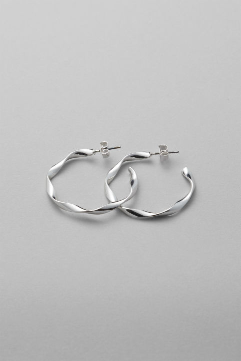 Weekday Coco Mid Hoop Earrings