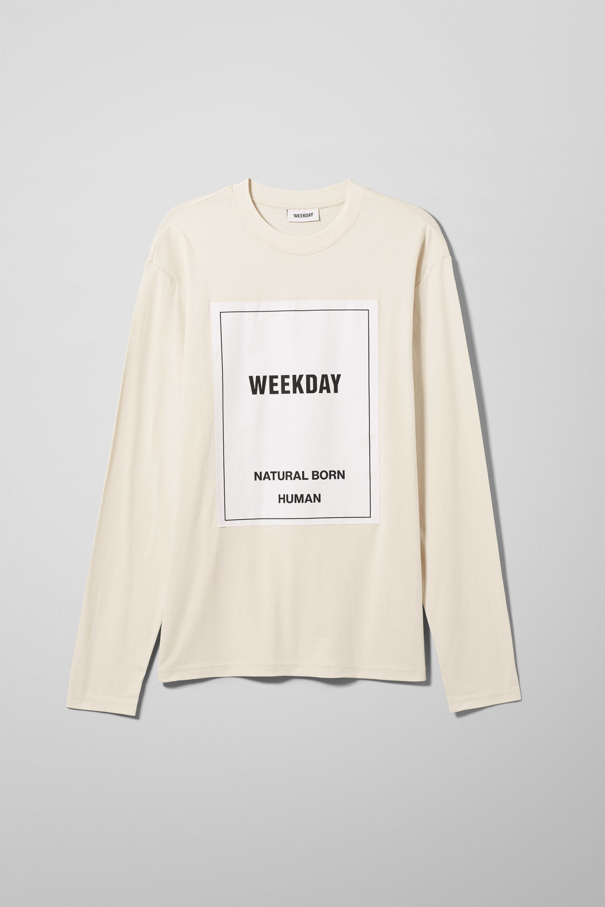 Front image of Weekday  in beige