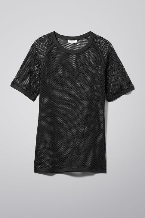 Weekday Liam Mesh T-Shirt