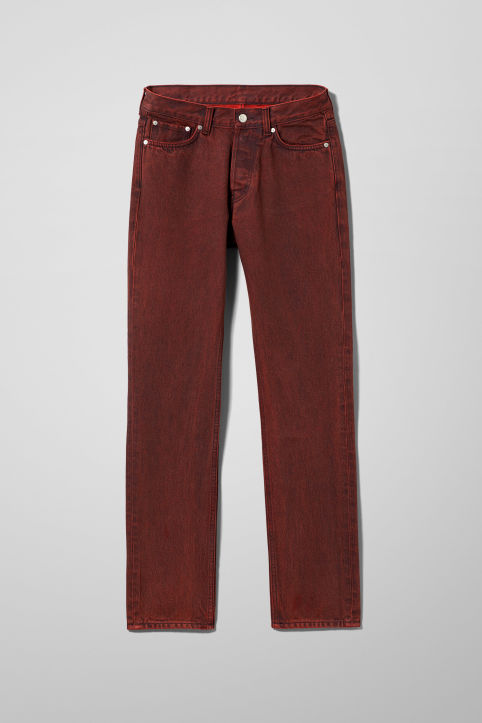 Weekday Vacant Rosewood Jeans
