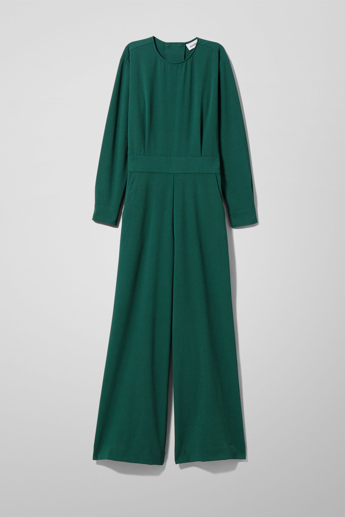 4a249f917386 Carillon Jumpsuit - Green - Dresses   Jumpsuits - Weekday