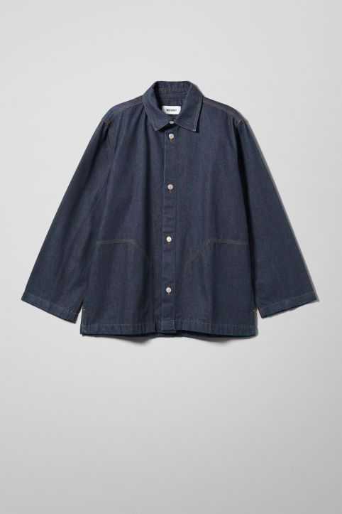Weekday Giga Rinsed Denim Shirt