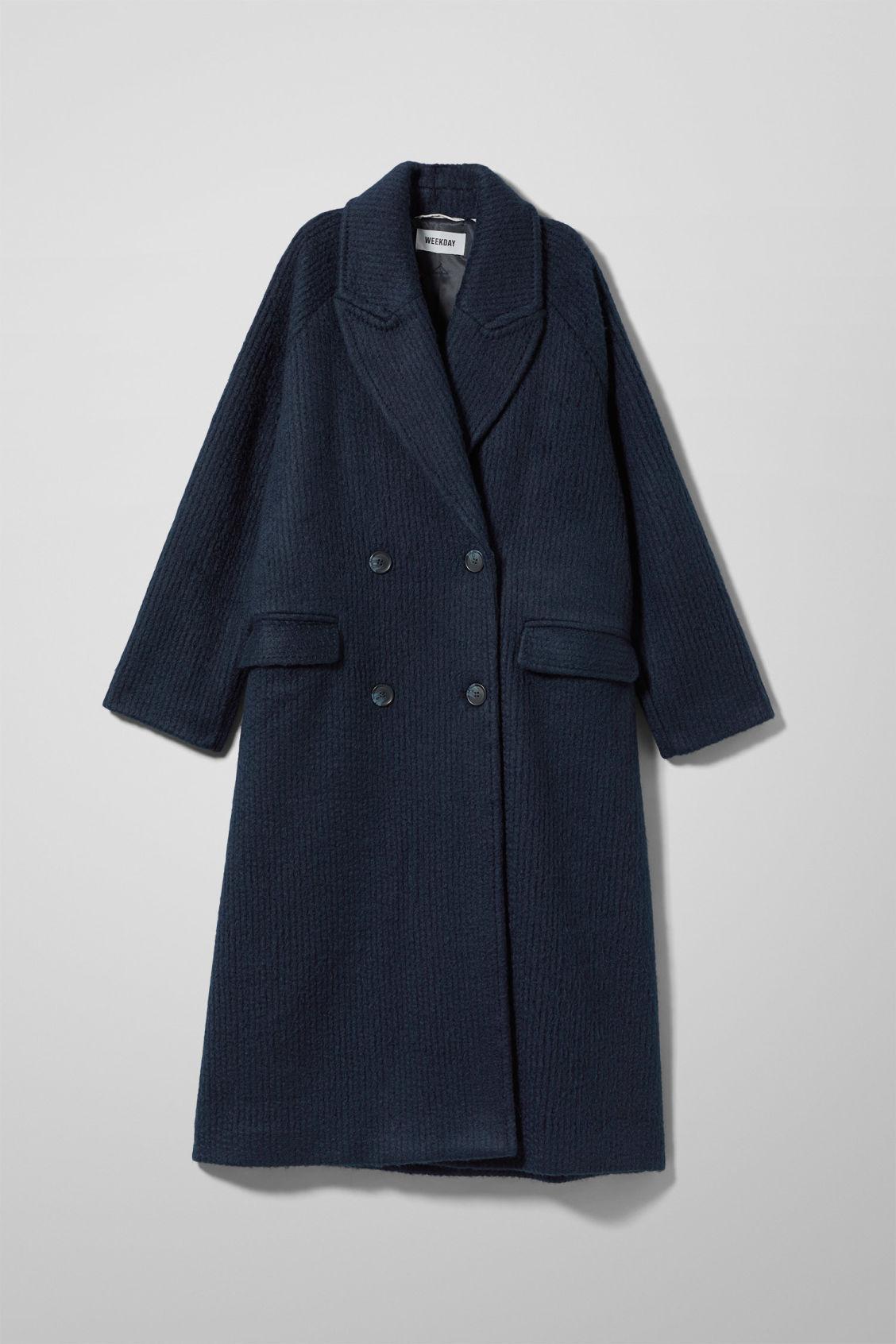Chenda Coat Blue Jackets Coats Weekday
