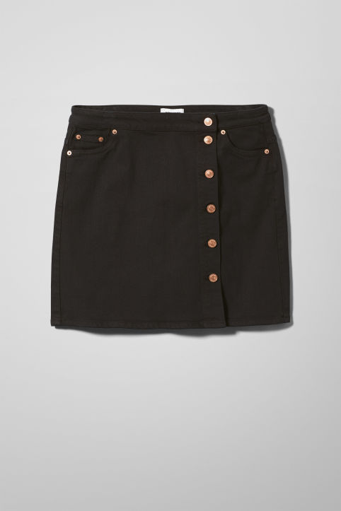 Weekday Sax Denim Skirt