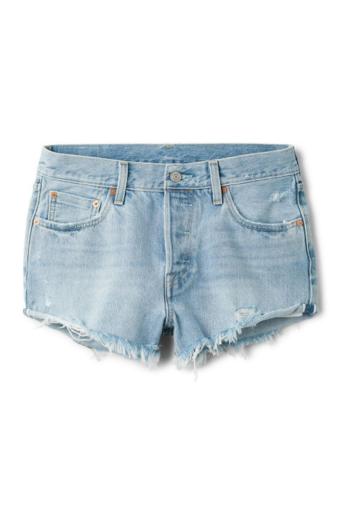 levis 501 Tune Into You Shorts