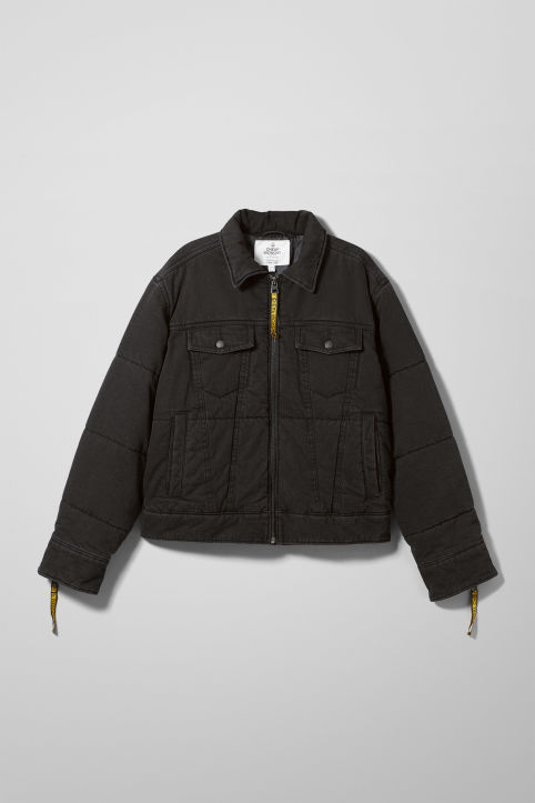 Cheap Monday Puffer Trucker Jacket