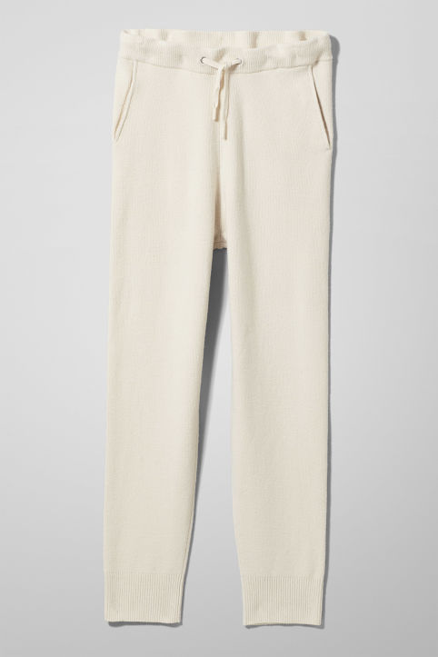 Weekday Langtran Knitted Trousers
