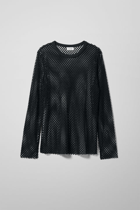 Weekday Chain Mesh Long Sleeve
