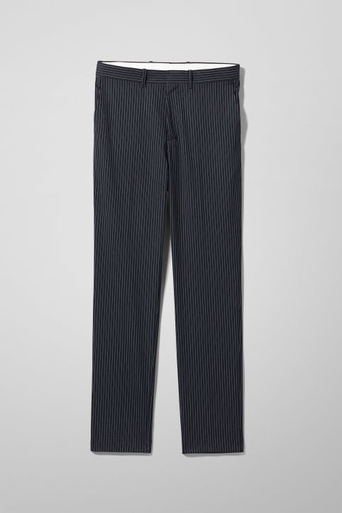 Weekday Bodie Pinstriped Trousers
