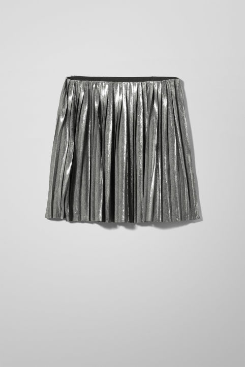 Weekday Susie Pleat Skirt