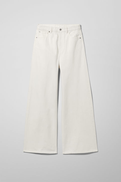 Weekday Ace White Jeans