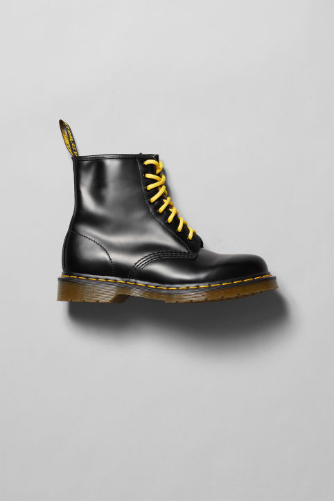 dr Martens Original Black Shoes