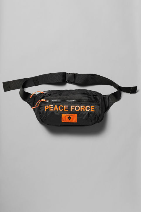 Weekday X Non-Violence Peace Force Trip Waist Bag