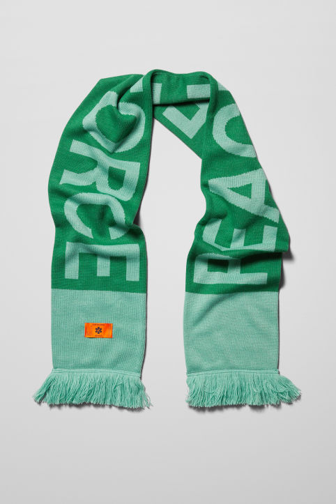 Weekday X Non-Violence Peace Force Beck Scarf