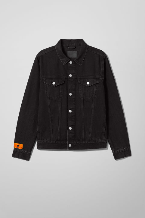 Weekday Peace Force Single Denim Jacket