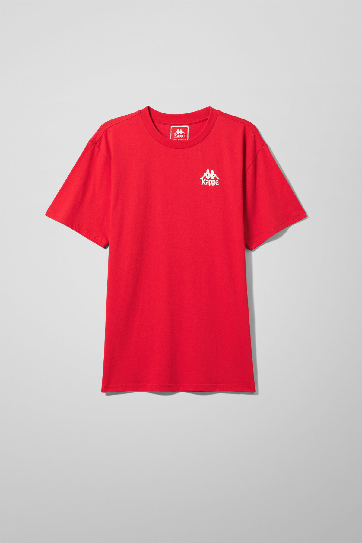 Authentic Wollie T shirt Red Tops Weekday