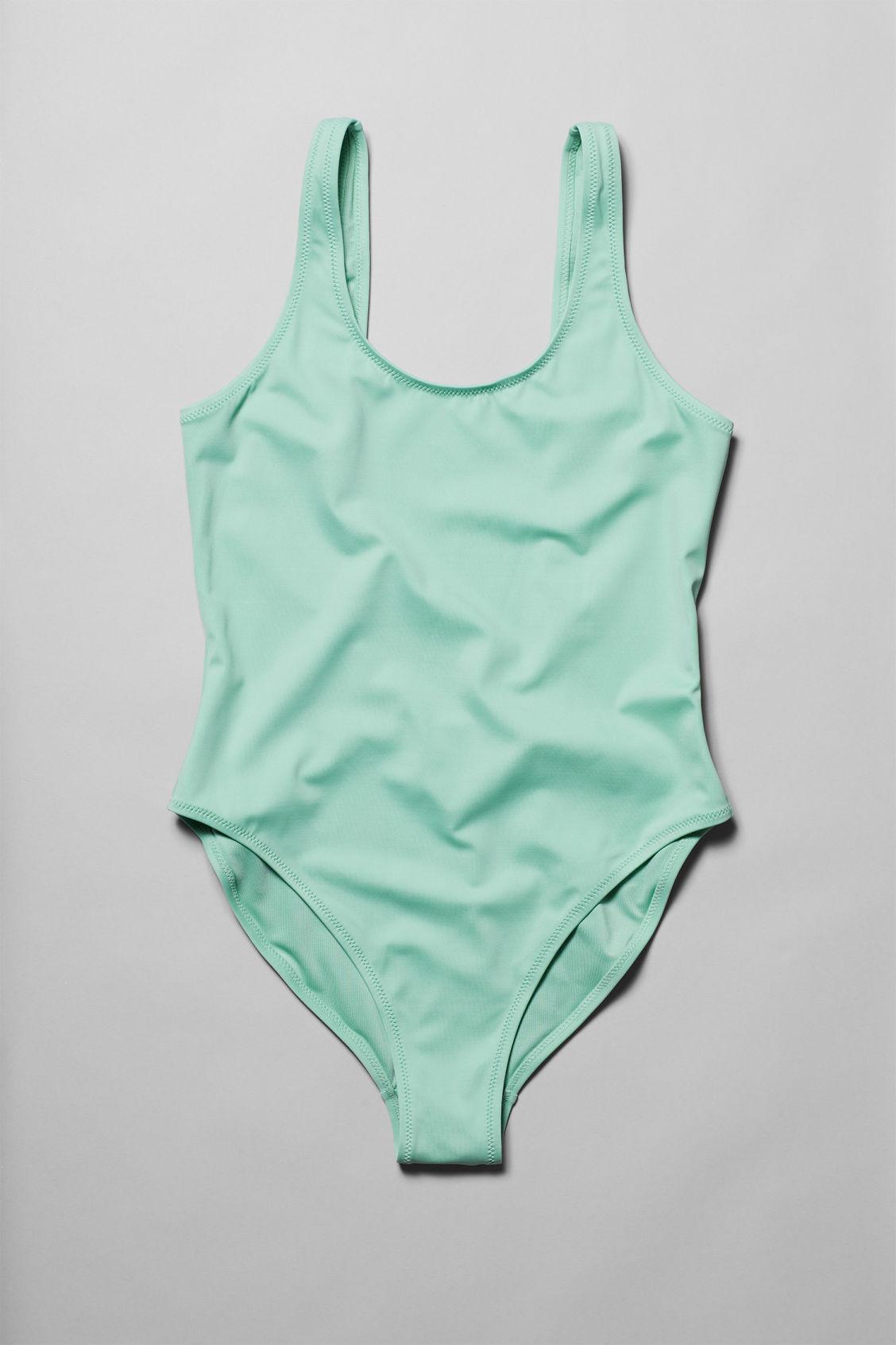 34b38d2d0c Emerald Swimsuit - Green - Swimwear - Weekday