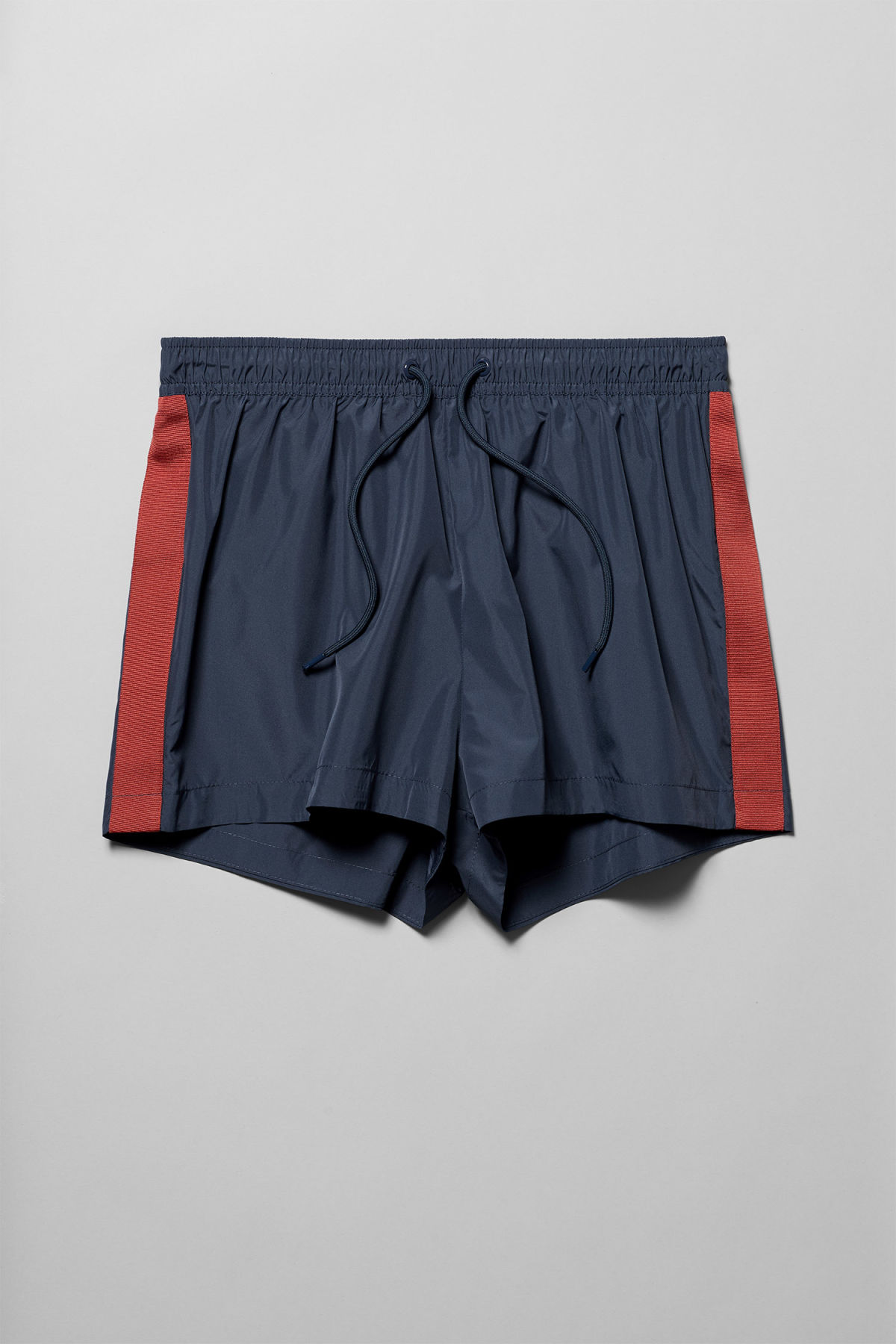 Front image of Weekday vincent swim shorts in blue
