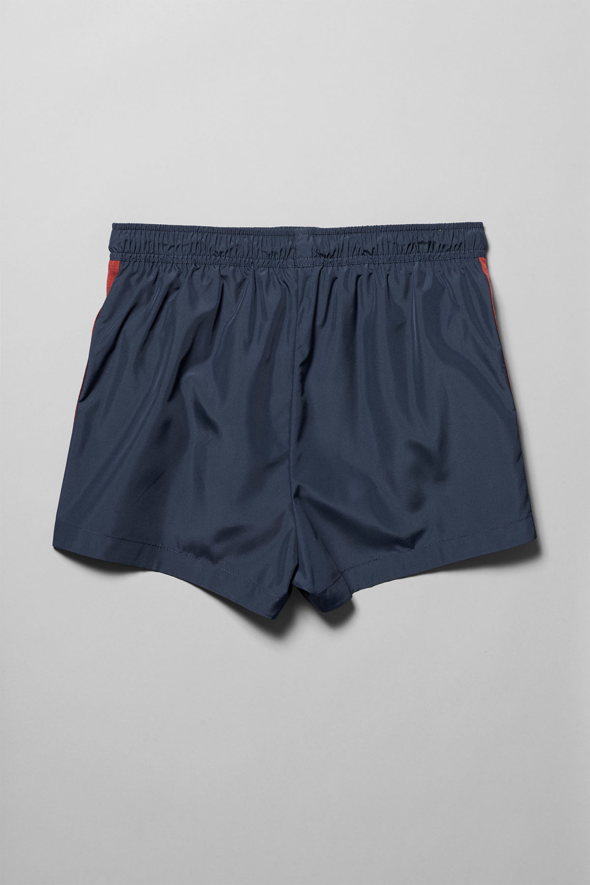 Back image of Weekday vincent swim shorts in blue