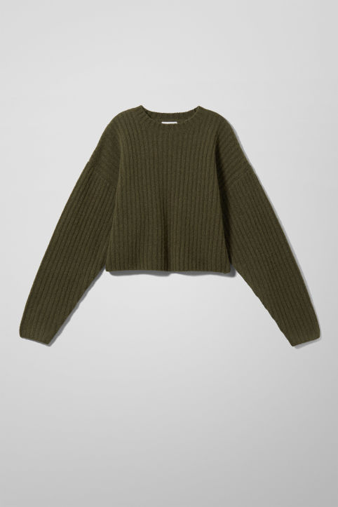 Weekday Oda Wool Blend Sweater