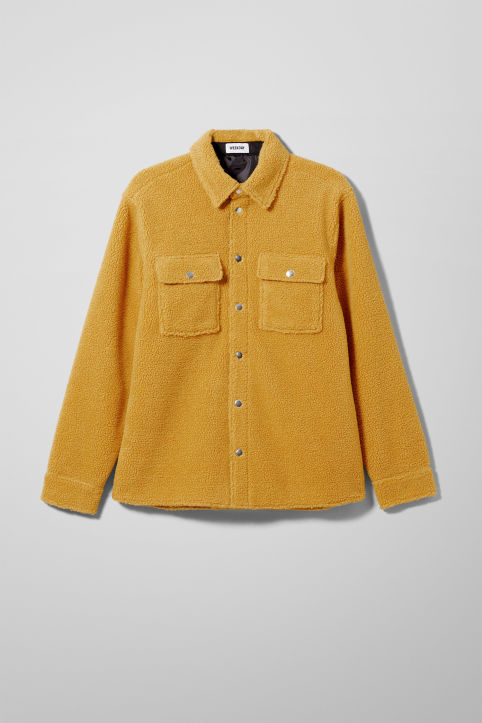 Weekday Irwin Pile Shirt Jacket
