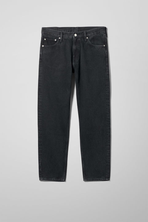 Weekday Barrel Tune Black Jeans