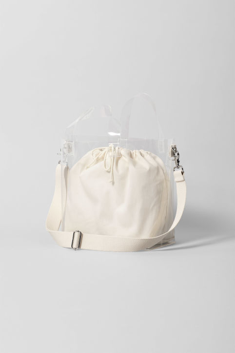 Weekday Sea Transparent Bag