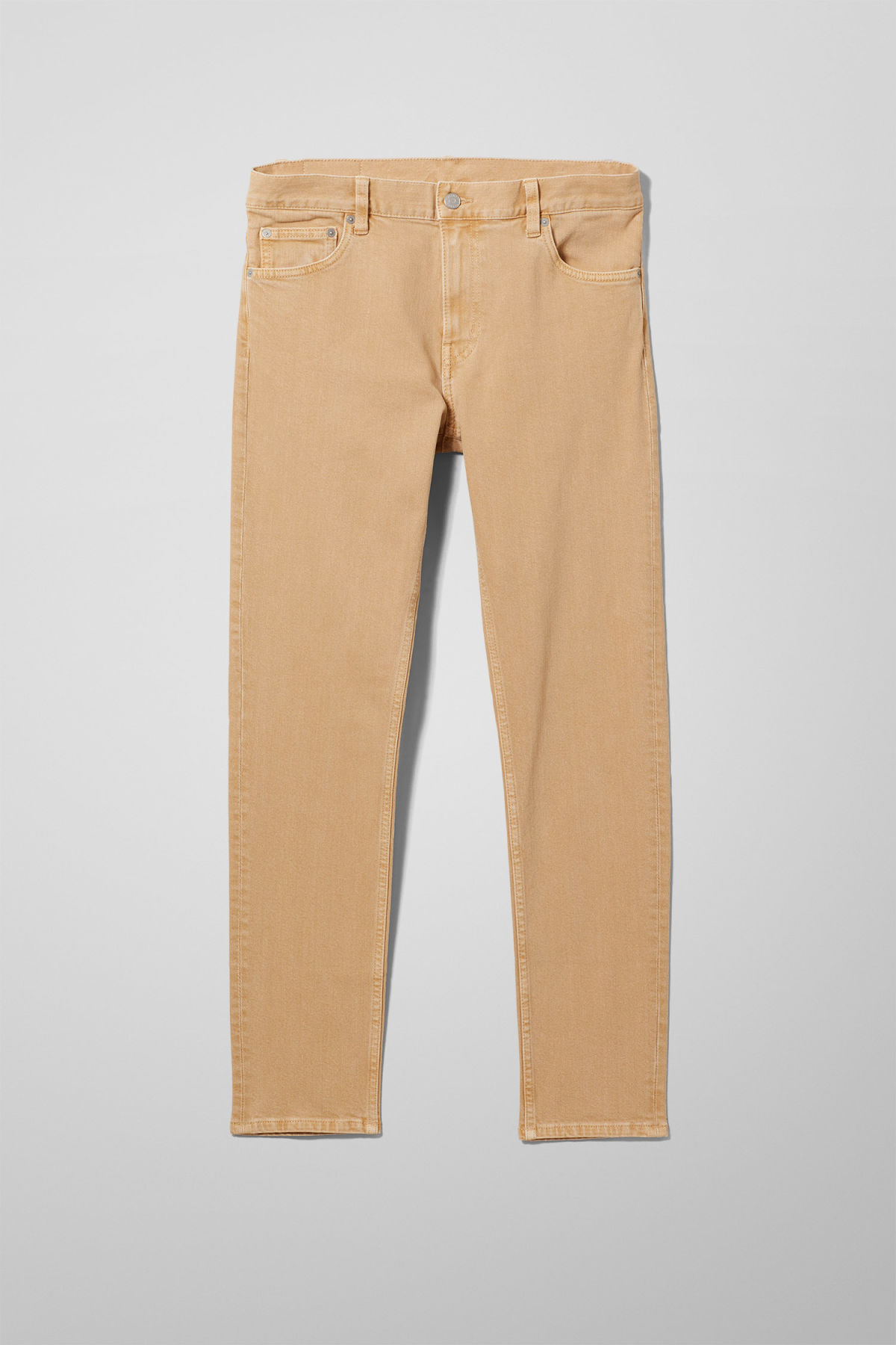 Front image of Weekday friday sand jeans in beige