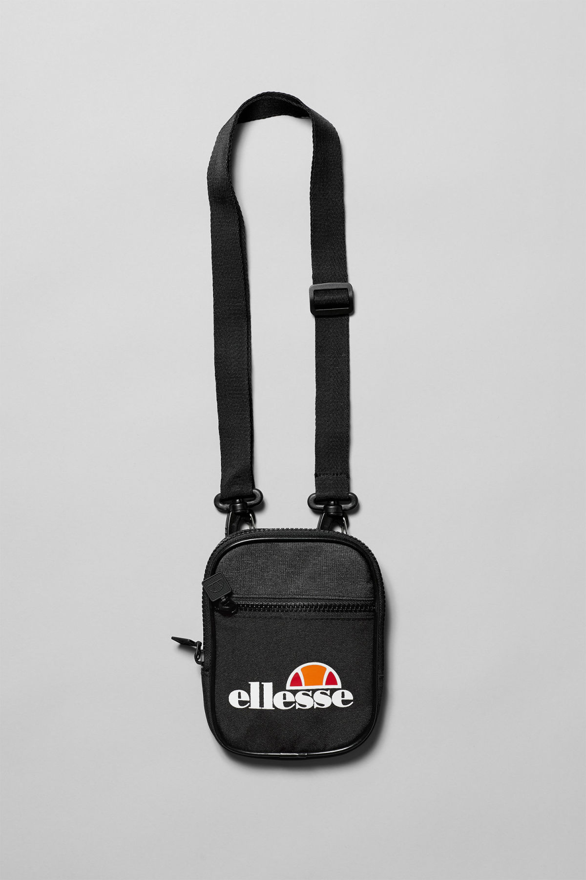 Front image of Weekday templeton mini bag in black