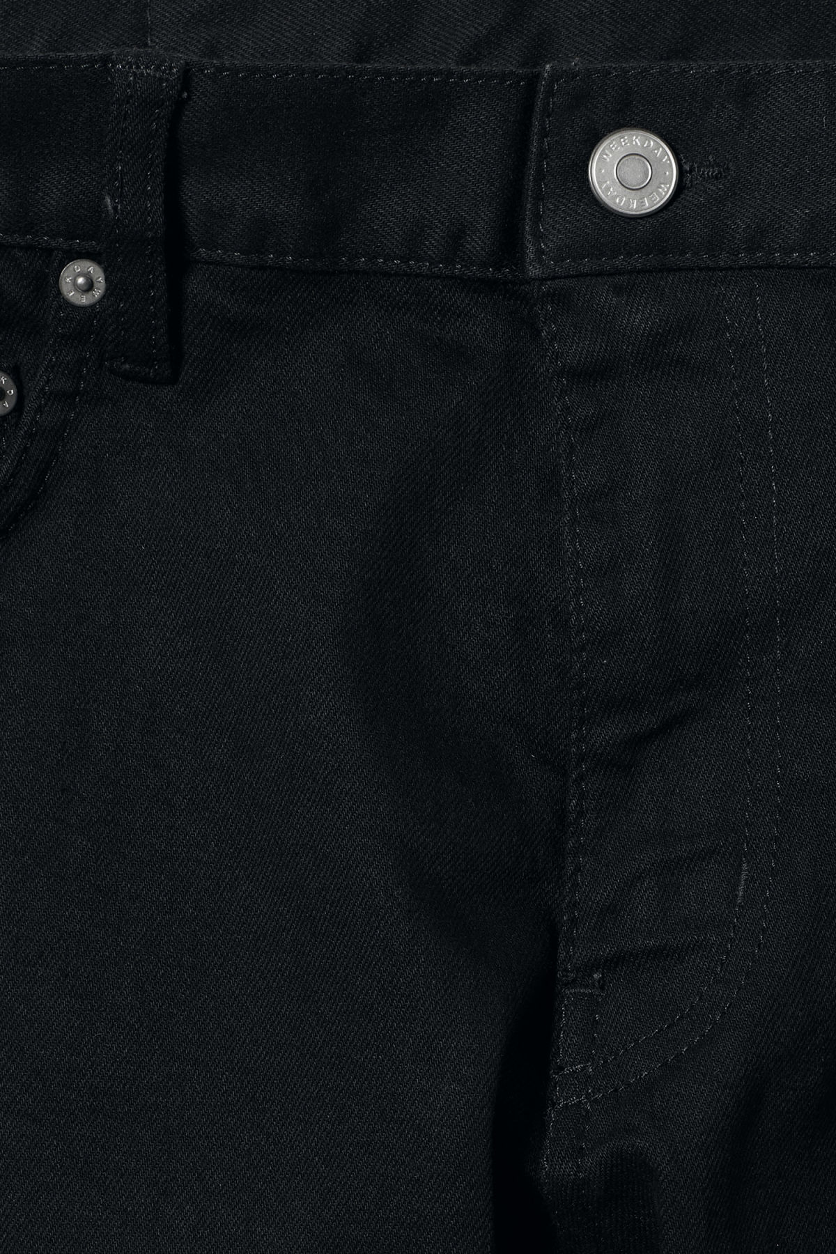 Detailed image of Weekday friday black jeans in black