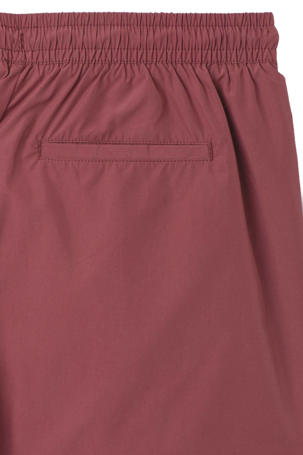 Detailed image of Weekday tan swim shorts in red