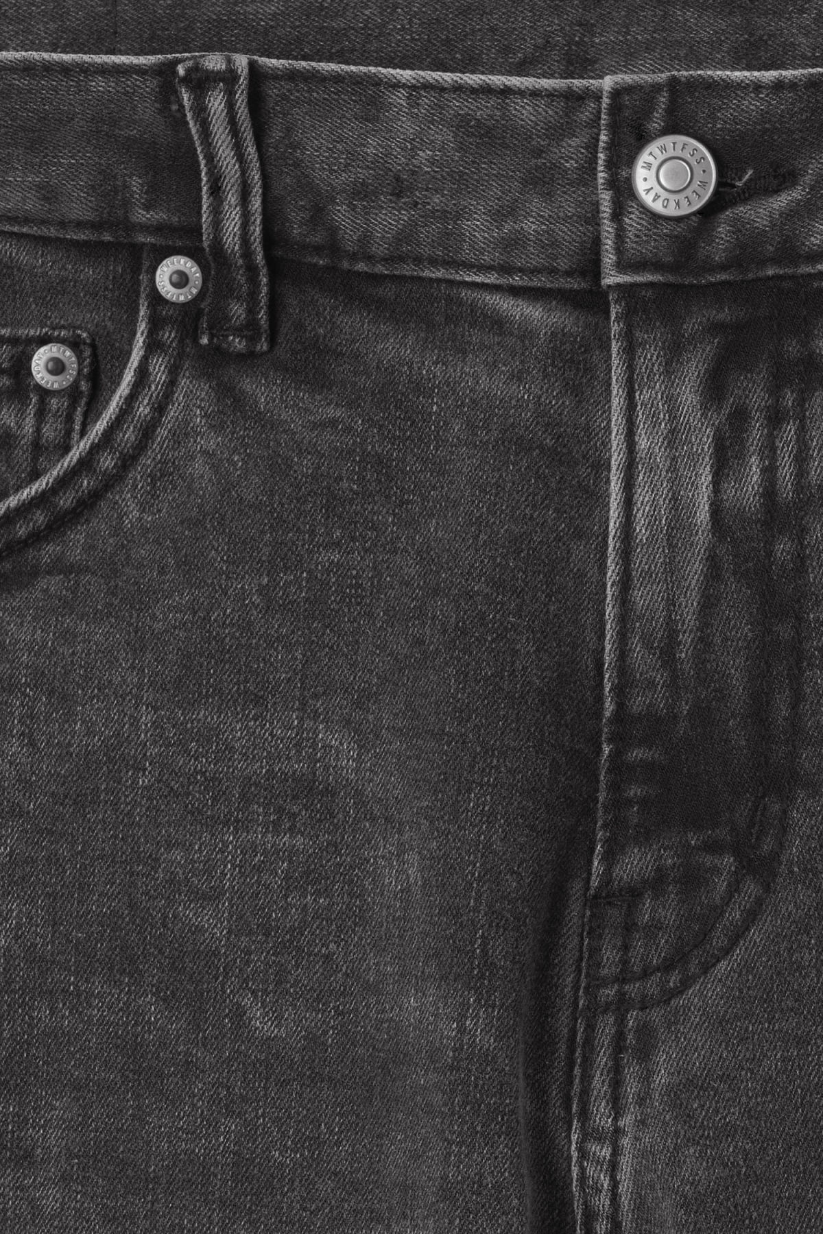 Detailed image of Weekday friday generic light jeans in grey