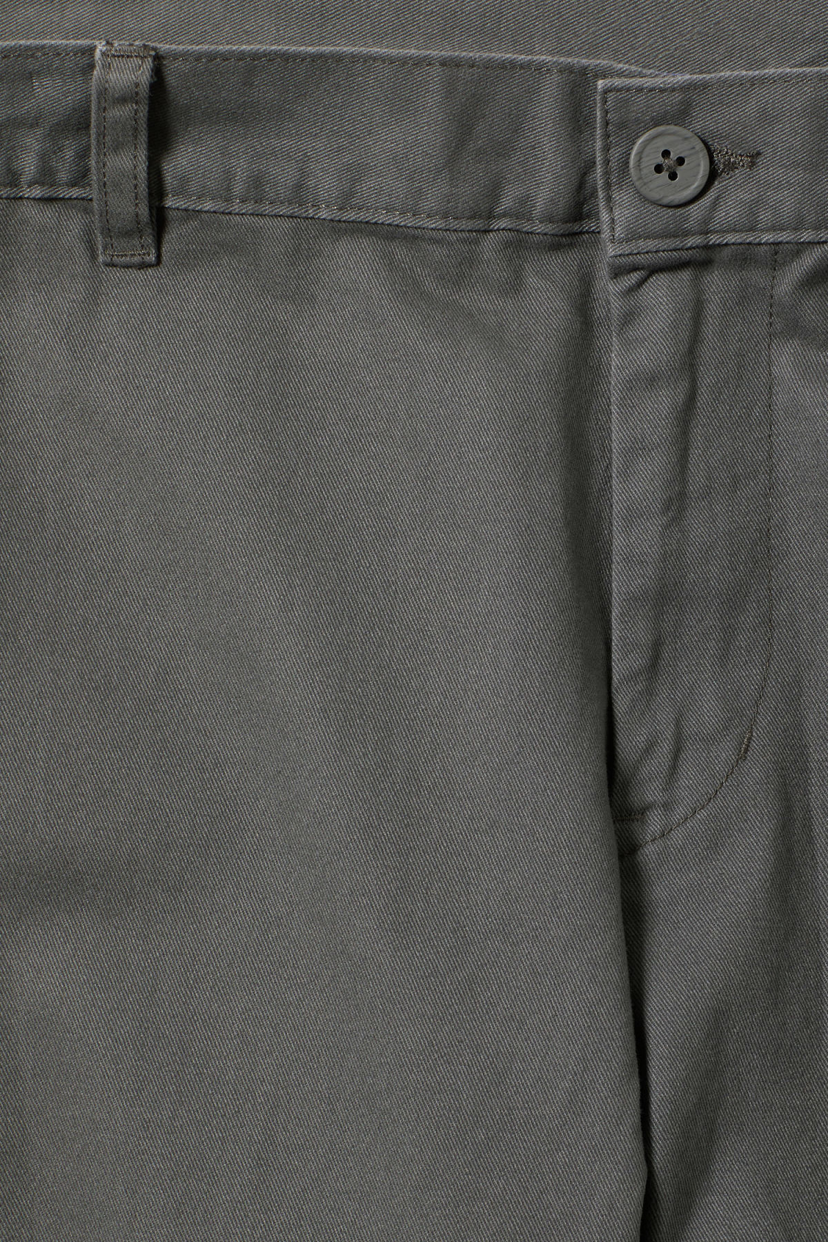 Detailed image of Weekday wood chinos in grey