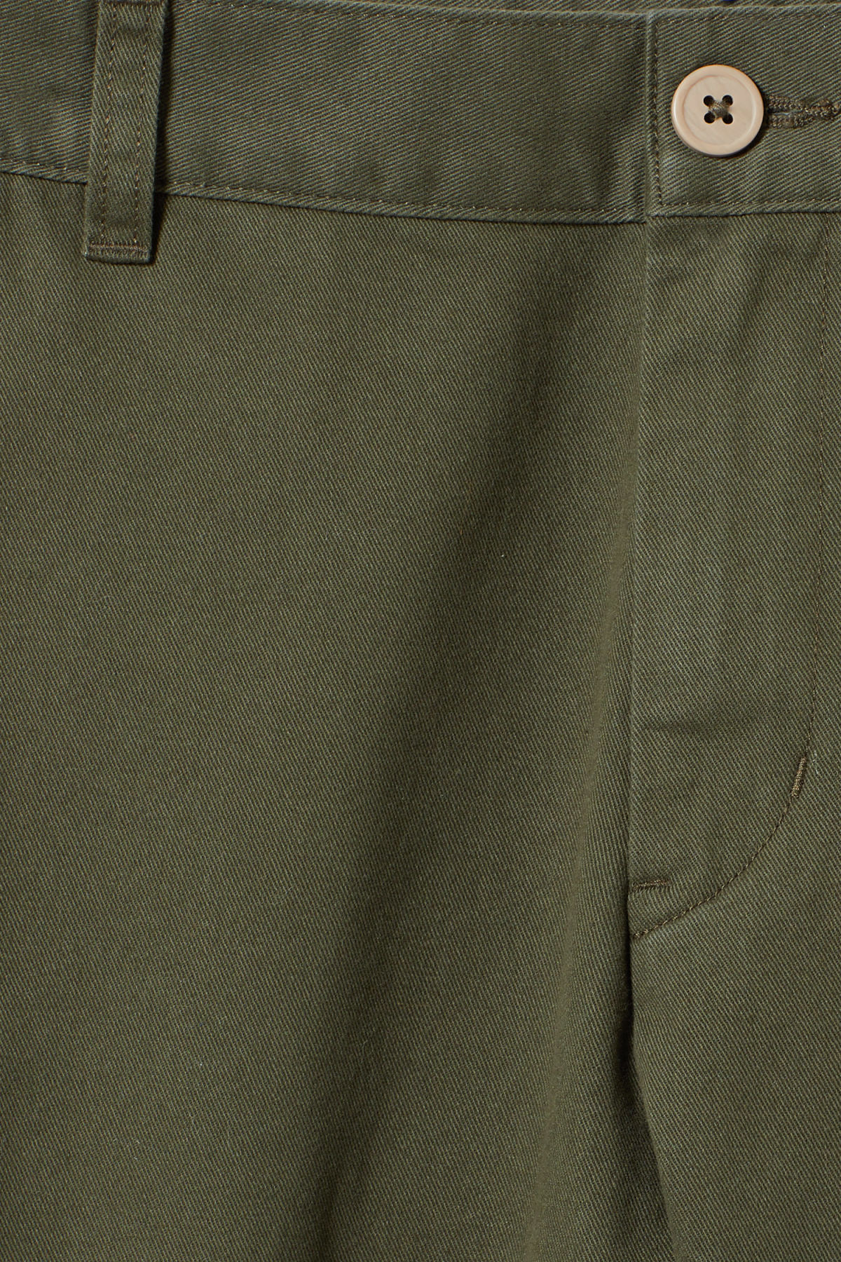 Detailed image of Weekday wood chinos in green