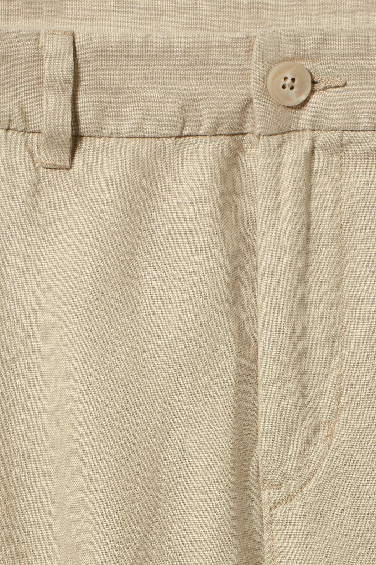 Detailed image of Weekday mash shorts in beige