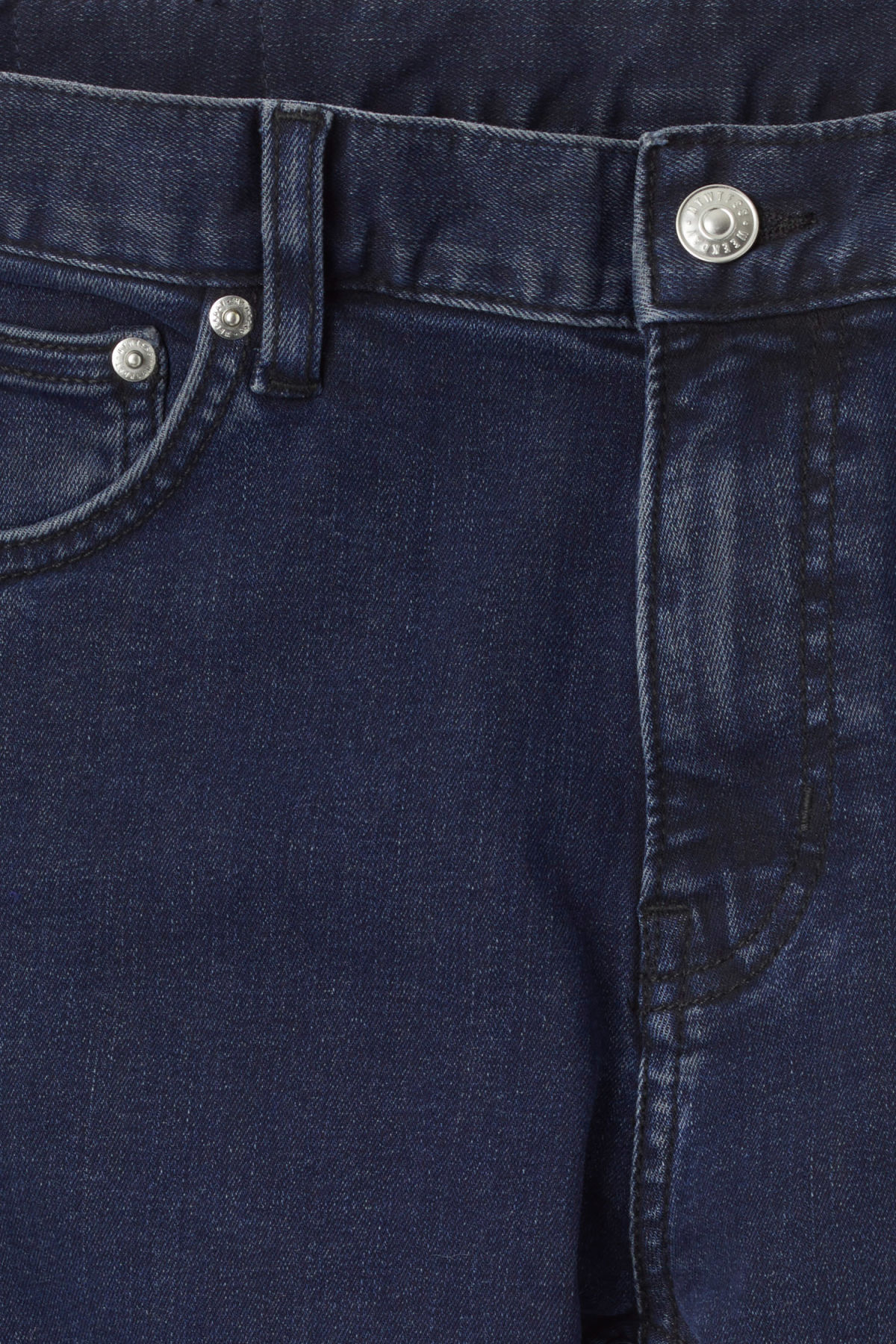 Detailed image of Weekday form od-11 jeans in blue