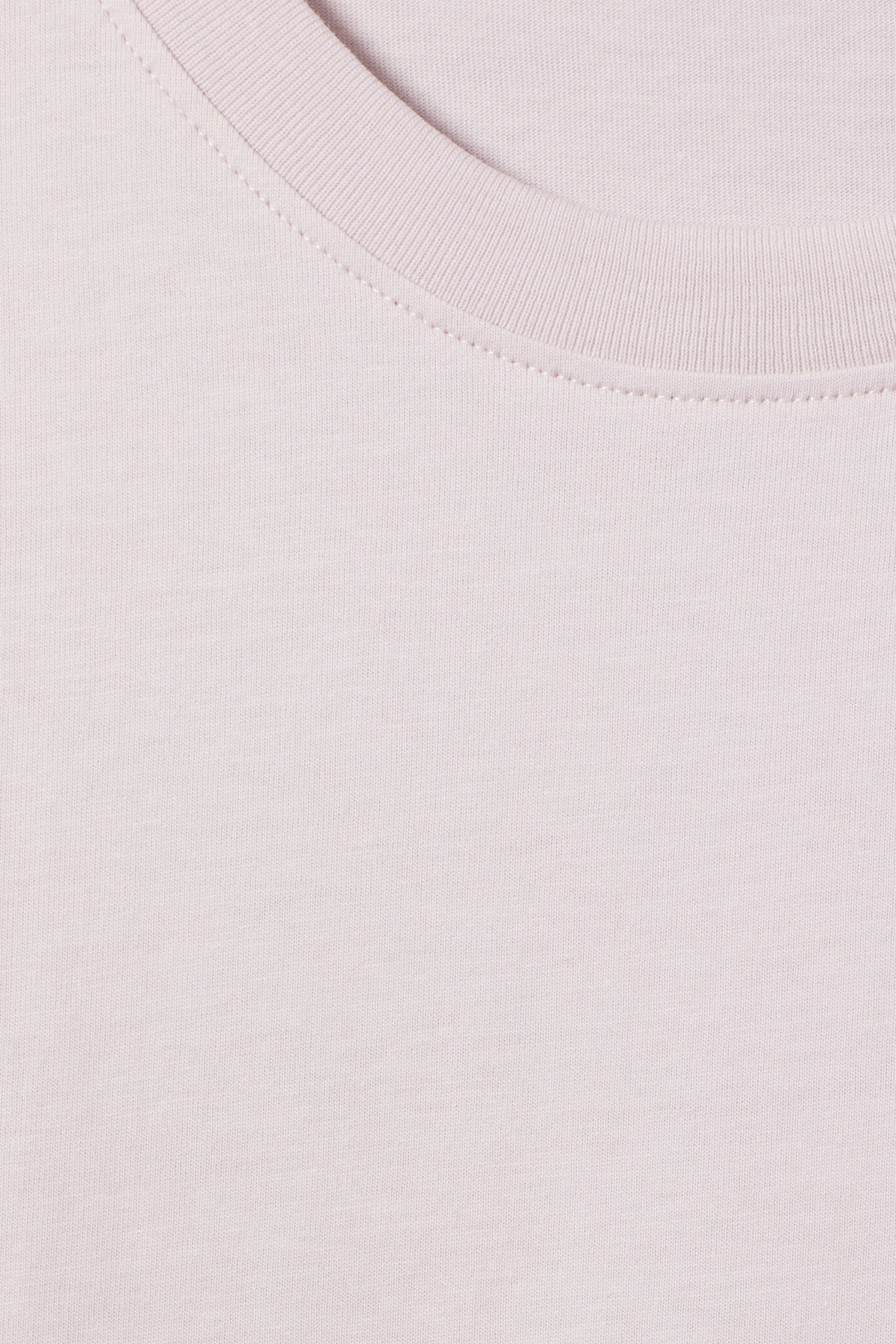Detailed image of Weekday frank t-shirt in purple