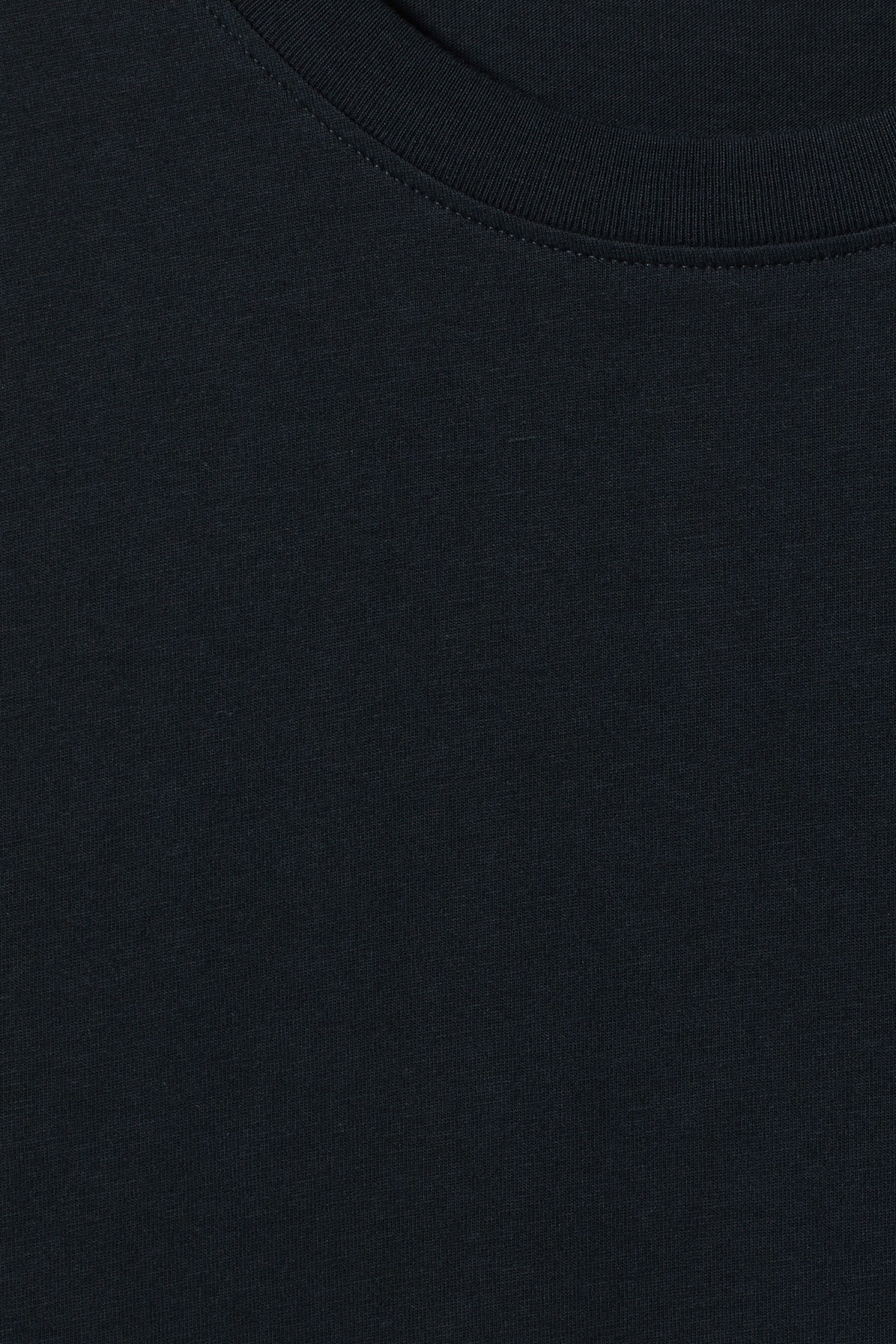 Detailed image of Weekday frank t-shirt in blue