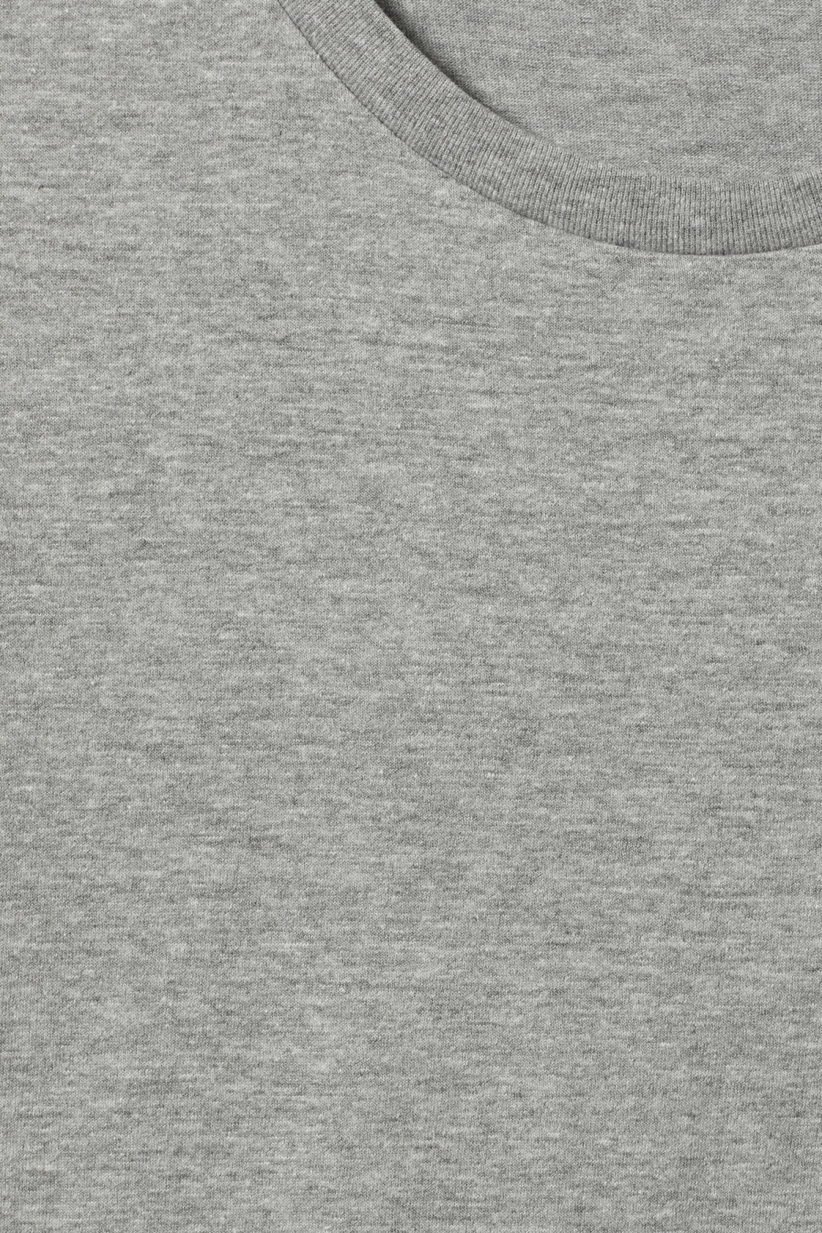 Detailed image of Weekday alex t-shirt in grey
