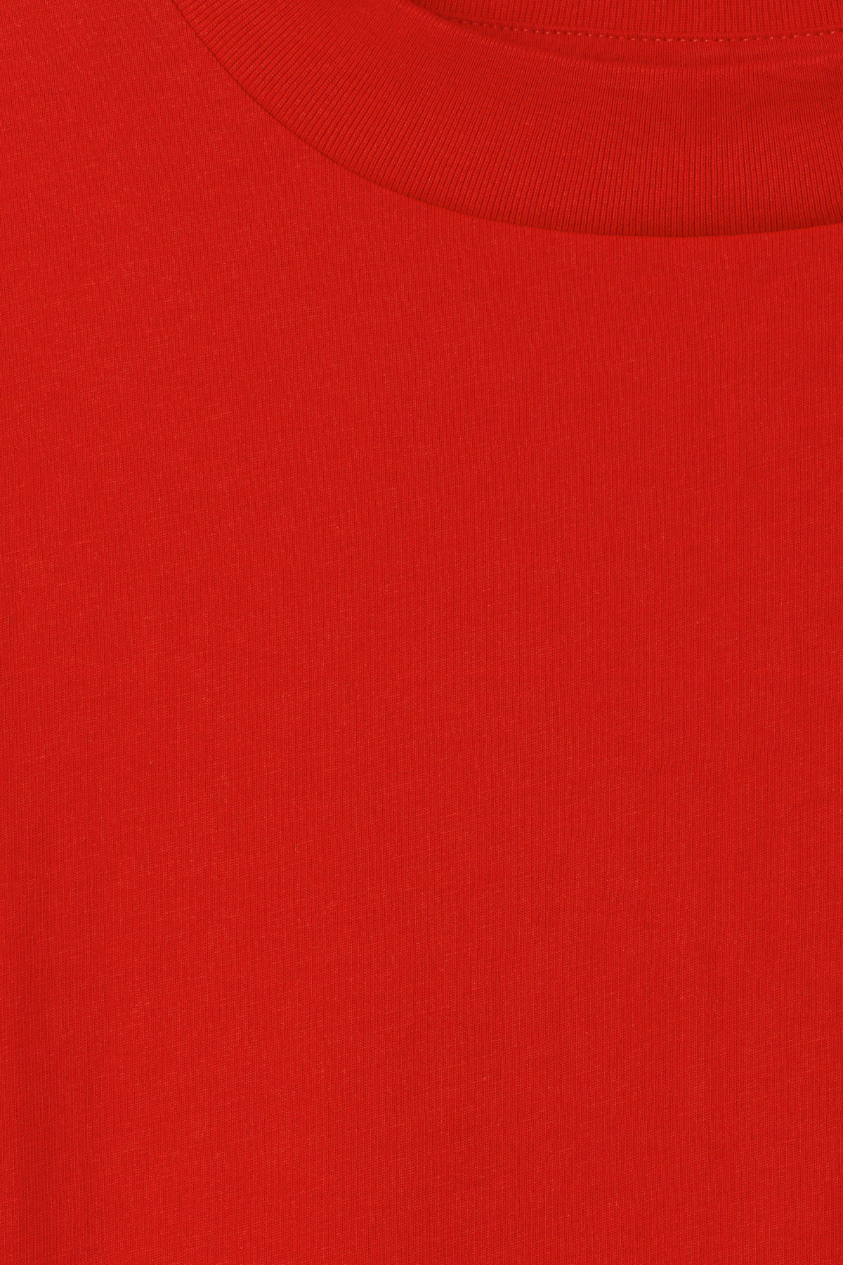 Detailed image of Weekday prime dress in red