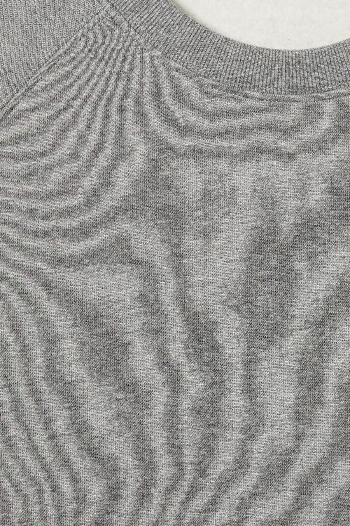 Detailed image of Weekday paris sweatshirt in grey