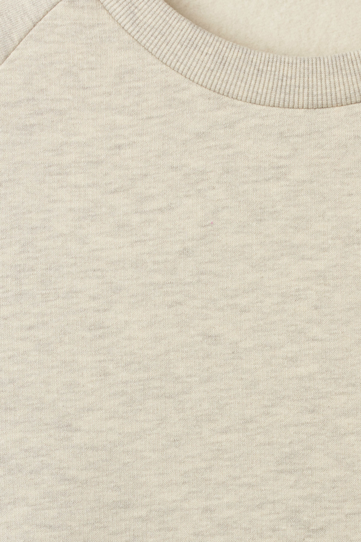 Detailed image of Weekday paris sweatshirt in brown