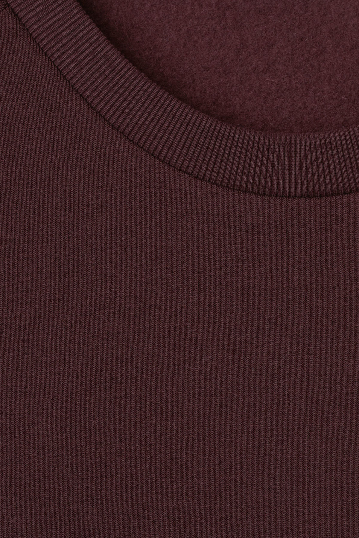 Detailed image of Weekday paris sweatshirt in red