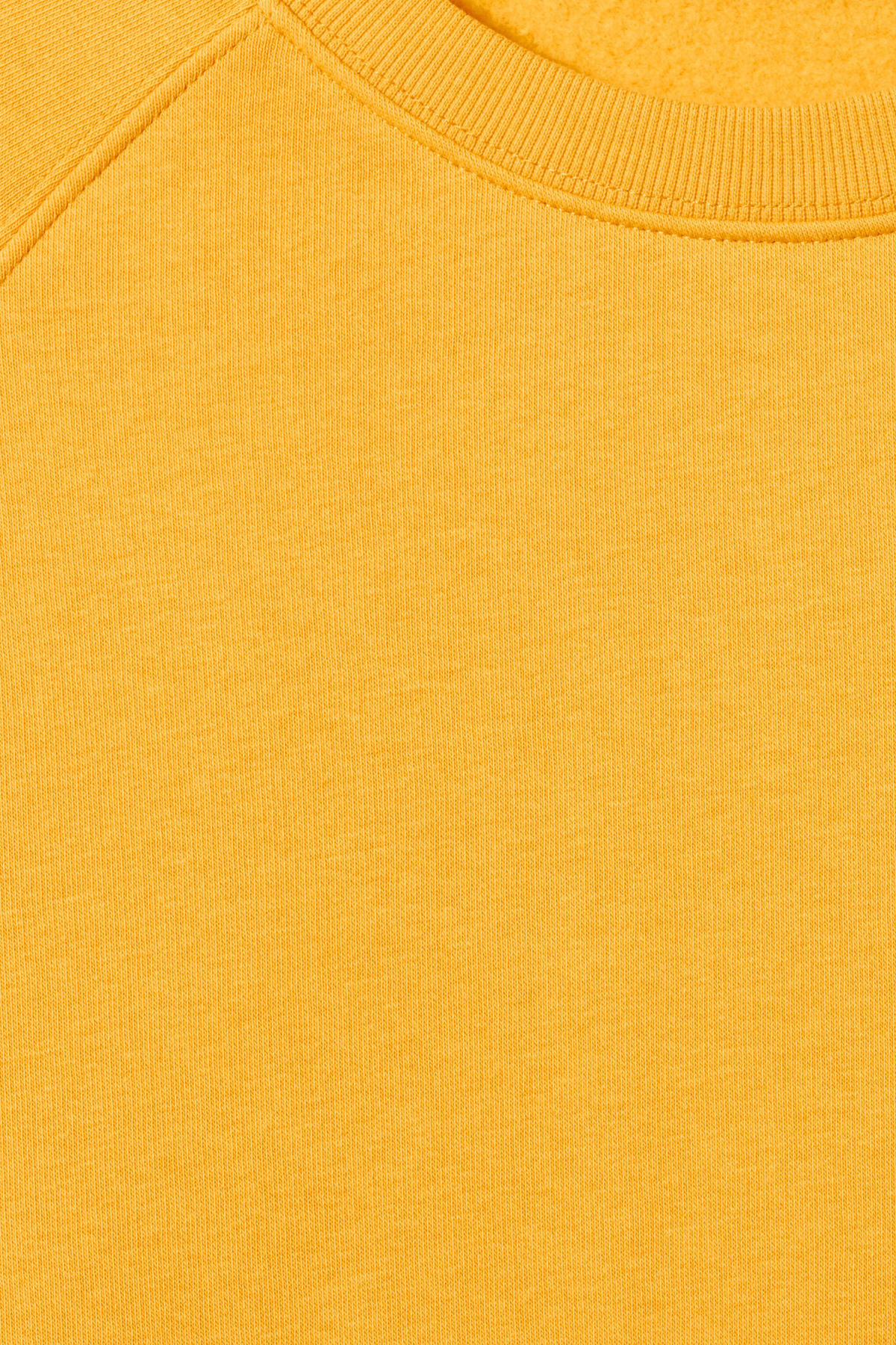 Detailed image of Weekday paris sweatshirt in yellow