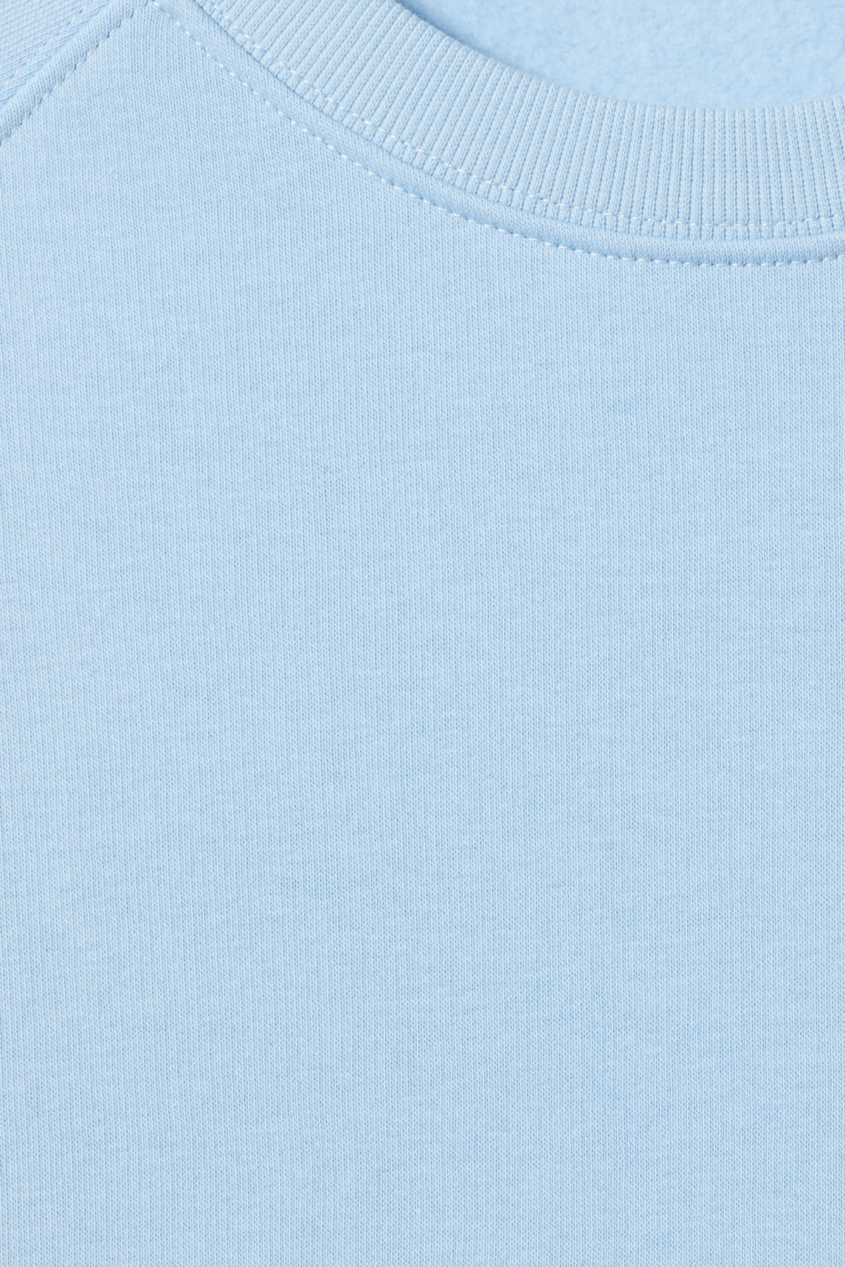 Detailed image of Weekday paris sweatshirt in blue