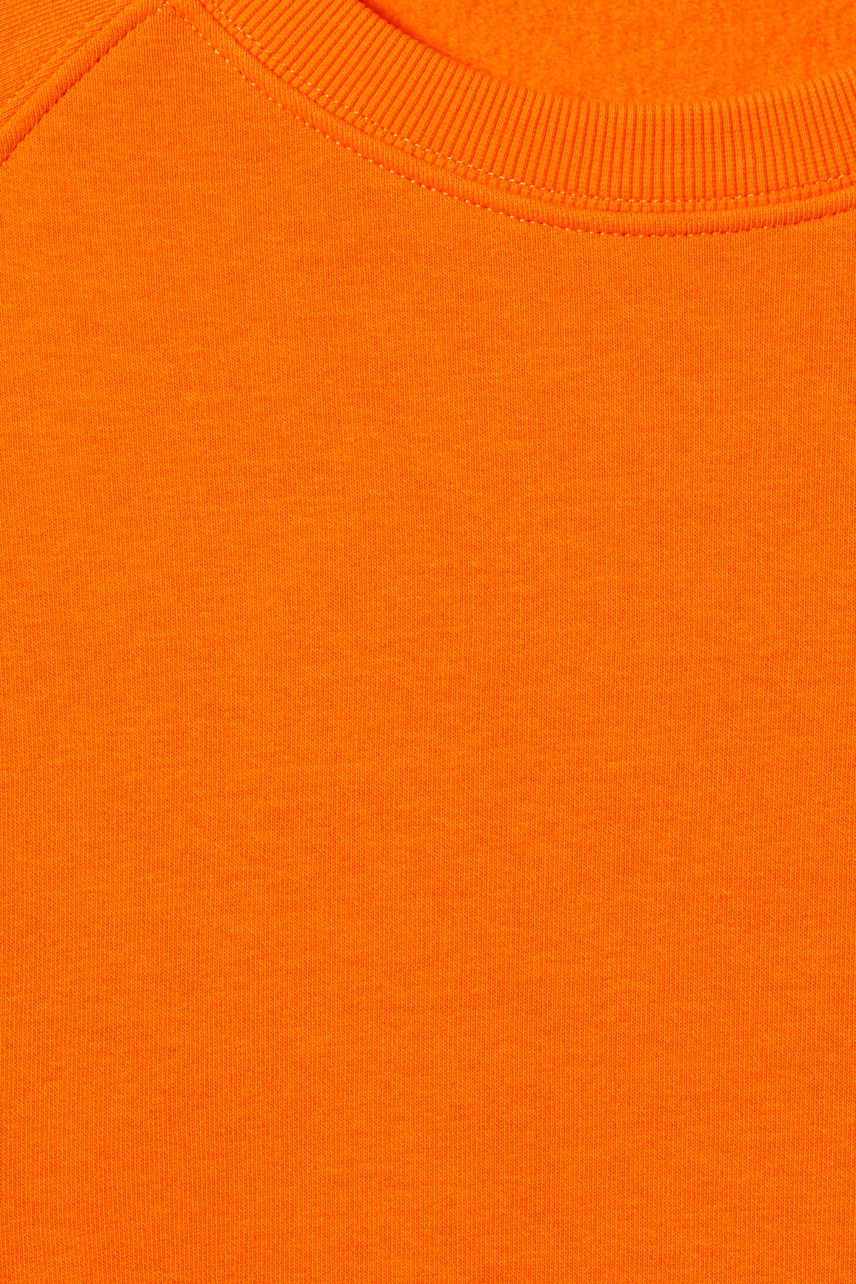 Detailed image of Weekday paris sweatshirt in orange