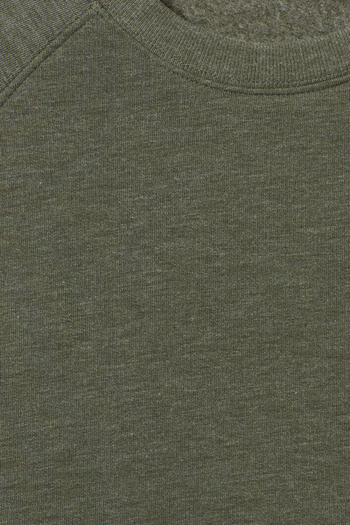 Detailed image of Weekday paris sweatshirt in green