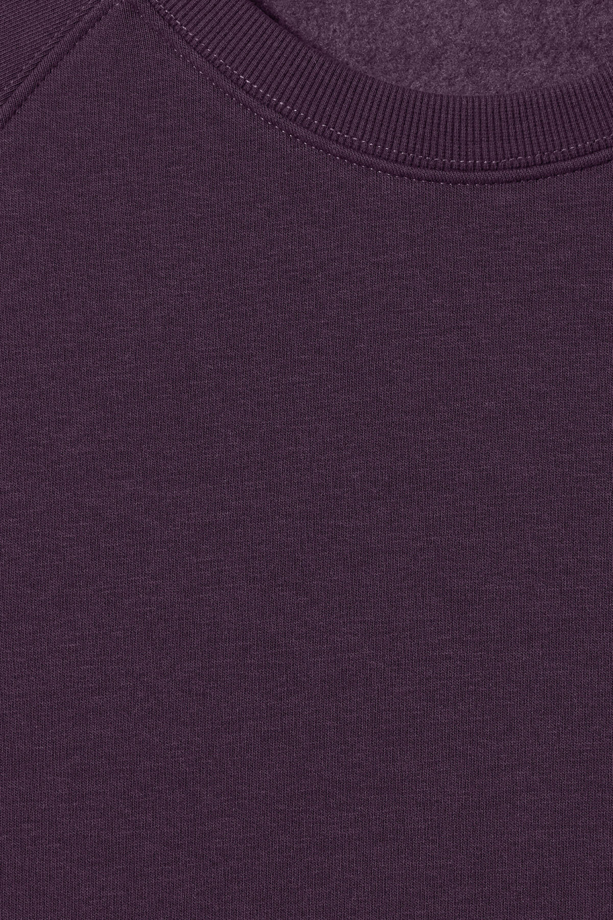 Detailed image of Weekday paris sweatshirt in purple